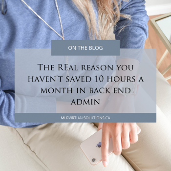 Save time in processes